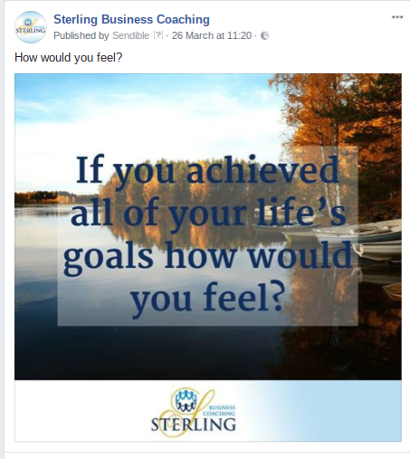 Sterling Facebook Post