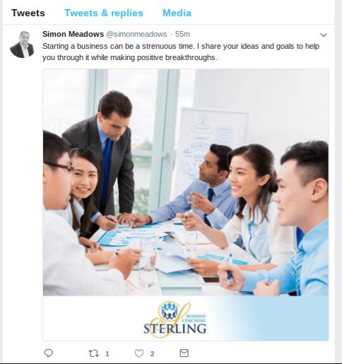 Sterling Tweet