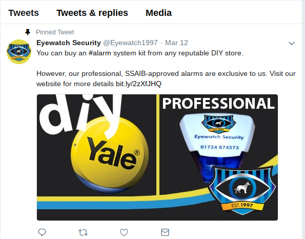 eyewatch security tweet